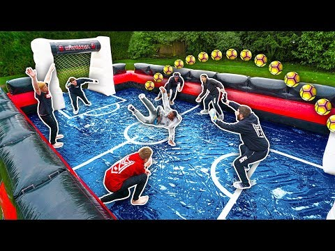 Video SIDEMEN GIANT SLIP AND SLIDE FOOTBALL
