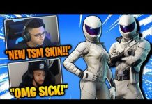 View MYTH & STREAMERS REACT TO *NEW* OVERTAKER & WHITEOUT SKINS (Fortnite Funny Moments)