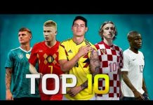 Video Top 10 Midfielders in Football 2018 (HD)