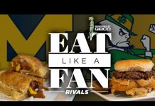 Video College Football's Oldest Rivalry: Michigan vs Notre Dame | Eat Like a Fan