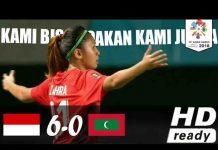 Video INDONESIA VS MALADEWA (6-0) 16 AUGUST 2018 – WOMEN FOOTBALL ASIAN GAMES 2018