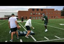 Video Michigan State football's first practice of 2018 fall camp