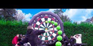 Video SIDEMEN GIANT FOOTBALL DARTS