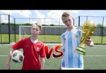 Video Messi VS Ronaldo WORLD CUP FOOTBALL CHALLENGE!