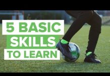 Video 5 MOST BASIC FOOTBALL SKILLS TO LEARN