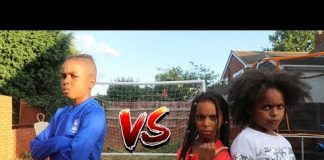 Video BRO VS TWIN SISTERS *IMPOSSIBLE* Football Challenge
