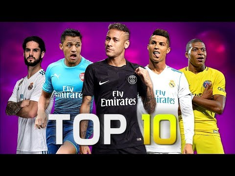Video Top 10 Skillful Players in Football 2018 (HD)