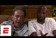Video Kobe Bryant visits Alabama football team, has sit-down conversation with Nick Saban | ESPN
