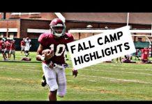 Video Alabama Football Fall Camp Highlights – Watch linebackers and defensive backs