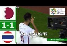 Video Highlights Thailand vs Qatar 1-1 : Men's Football Asian Games Indonesia 2018