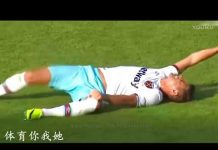 視頻 足球犯规打架冲突集锦, 内马尔被群殴, C罗被铲飞!