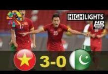 Video VIETNAM VS PAKISTAN 3-0 FT || MEN FOOTBALL ASIAN GAMES 2018