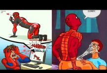 View NEW 2018 Hilariously Funny SUPERHERO MARVEL & DC Comics Make You LOL || Funny Superhero Comics