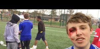 Video FOOTBALL DEATH RUN