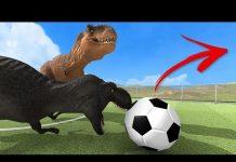 視頻 【DE JuN】野獸戰爭模擬器#3 – 恐龍足球大廝殺!! (Beast Battle Simulator)