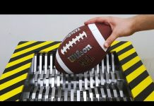 Video EXPERIMENT Shredding AMERICAN FOOTBALL