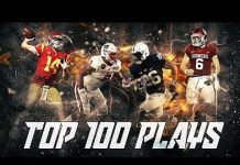 Video Top 100 Plays of the 2017-2018 College Football Season