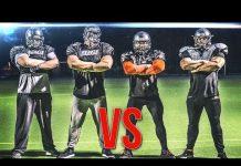 Video Bodybuilder vs American Football!! Hardgainer Crew