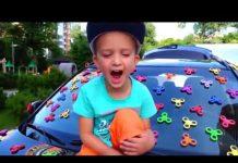 见 Johny Johny是Papa韻兒童歌曲顏色2018年 |兒童滑稽和巨型冰淇淋驚喜!約翰尼約翰尼的歌曲 # 20