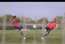 視頻 漫畫說的都是真的 足球小將翼 雙人射門 絕技重現