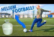 Video THE HELIUM FOOTBALL TEST!