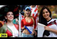 Video 32 Beutiful Female Football World Cup Fans 2018 [HD]