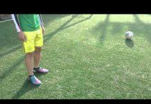 視頻 初學足球基本練習示範 Basic football practice record(內側、停球、空中腳背、空中內側)