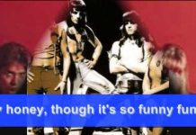 View THE SWEET – FUNNY FUNNY: 1971  (with words)