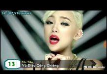 Xem Top 30 MV nhạc trẻ Solo nữ nhiều views nhất