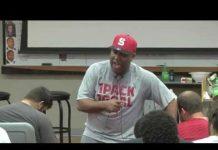 Video ET Speaks to Wolfpack Football