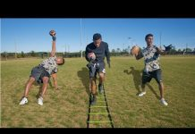 Video THE IMPOSSIBLE FOOTBALL OBSTACLE COURSE!