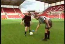 視頻 足球技巧3