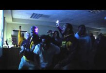 Video CMU Football Team Reaction to Bahamas Bowl Announcement