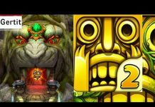 View Temple Run 2 In Real Life Pretend Play while Gertit is Playing and Jumping like in Gamplay