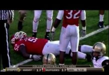 Video Paralyzed Football Player's Comeback