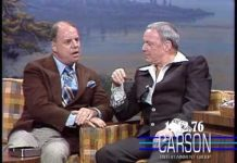 View Frank Sinatra is Surprised by Don Rickles on Johnny Carson's Show, Funniest Moment