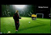 視頻 看貝克漢教小朋友踢足球 David Beckham part1