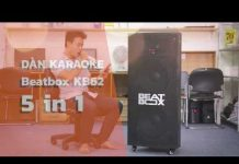 Xem Dàn karaoke di động Beatbox KB62 5in1