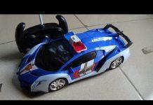 Xem Police car toy Xe ô tô cảnh sát đồ chơi trẻ em điều khiển từ xa Kid Studio 2