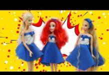 Xem Tự làm đồng phục thời trang cho búp bê đến trường | Diy Fashion uniforms for doll