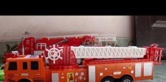 Xem Fire truck toy – Xe ô tô cứu hỏa đồ chơi trẻ em – Toy for kids by Kid Studio