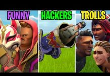 View Shot from a CANNON! FUNNY vs HACKERS vs TROLLS! Fortnite Funny Moments (Battle Royale)