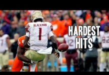 Video Hardest Hits of the 2017-18 College Football Season || Part 2 ᴴᴰ
