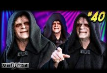 View Star Wars Battlefront 2 – Funny Moments #40 (Palpatine is Back!)