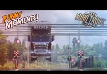 View Euro Truck Simulator 2 Multiplayer Funny Moments & Crash Compilation #88