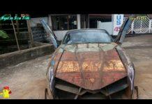 Xem Siêu xe Lamborghini tự chế từ sắt vụn siêu độc và lạ