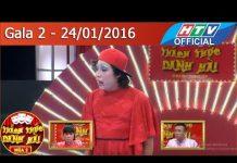Xem Thách thức danh hài – Mùa 2   Gala 2 Thiện Trung – Em gái Việt Hương, bạn gái Trấn Thành   24/1/2016