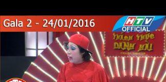 Xem Thách thức danh hài – Mùa 2 | Gala 2 Thiện Trung – Em gái Việt Hương, bạn gái Trấn Thành | 24/1/2016