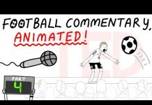 Video Crazy Football Commentary Animated! (Part 4)