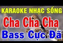 Xem Karaoke Liên Khúc Cha Cha Cha Thôn Quê | Nhạc Sống Trữ Tình Hòa Tấu | Trọng Hiếu